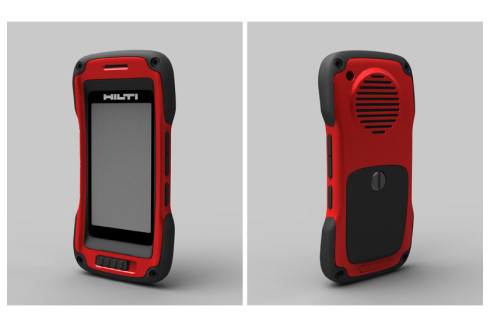 Hilti rugged phone concept 1