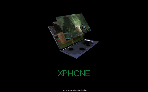 Microsoft Xphone concept 1