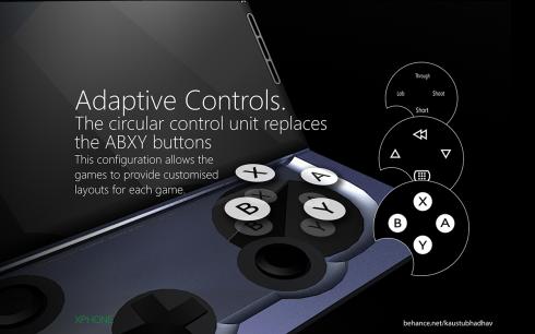 Microsoft Xphone concept 3