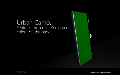 Microsoft Xphone concept 5