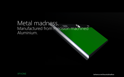 Microsoft Xphone concept 6