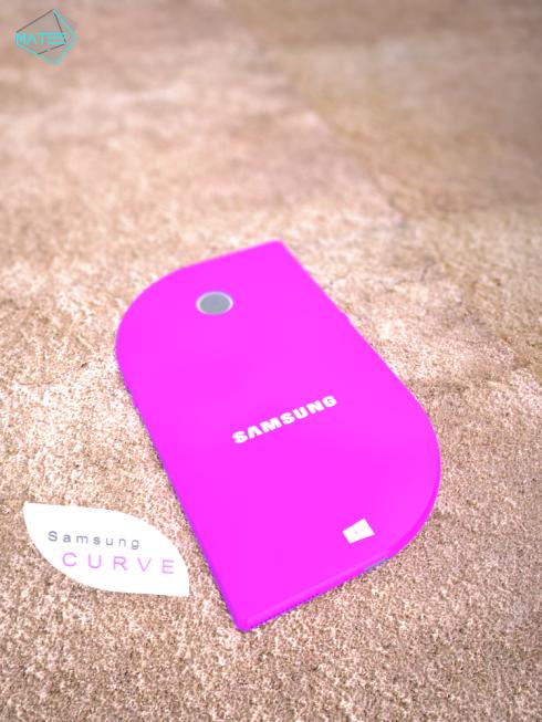 Samsung Curve concept smartphone 4