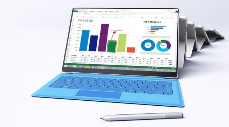 Microsoft Surface Pro 4 edge to edge screen – Concept Phones
