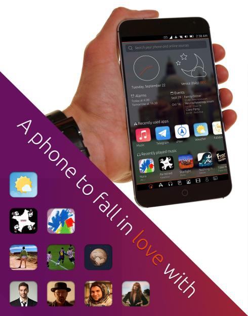 Ubuntu Touch Vibrant Venice concept 3