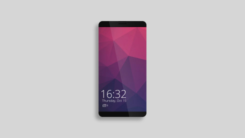 smartphone concept bezel less