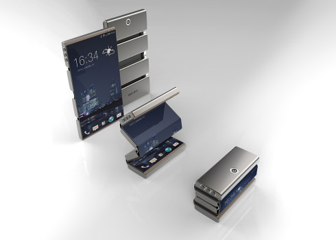 Drasphone concept phone flexible display 1