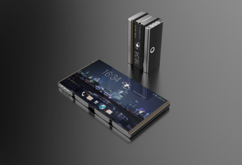 Drasphone concept phone flexible display 2