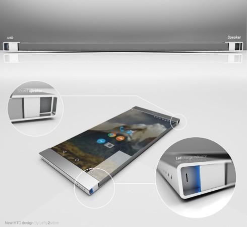 HTC Nexus metal phone concept 2015 2