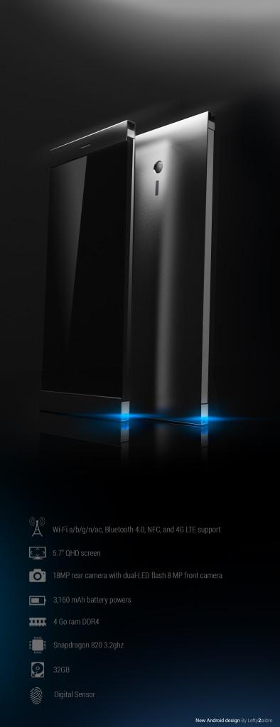 HTC Nexus metal phone concept 2015 3