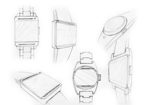 HTC Smart Watch design 4