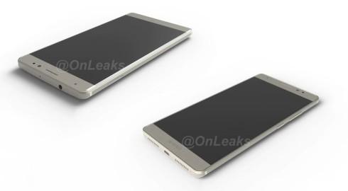 Huawei Mate 8 onleaks render 1