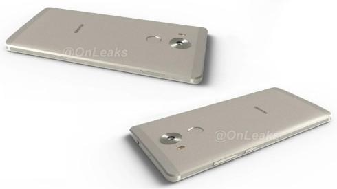 Huawei Mate 8 onleaks render 2