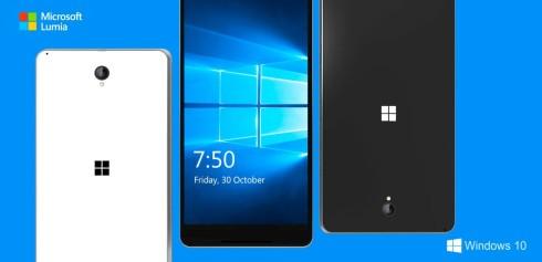Microsoft Lumia 750  concept 1