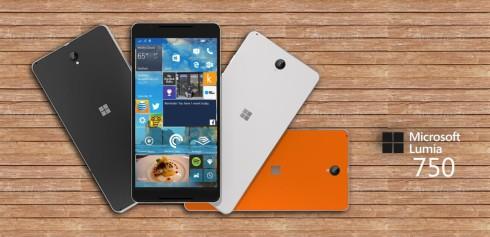 Microsoft Lumia 750 concept 2