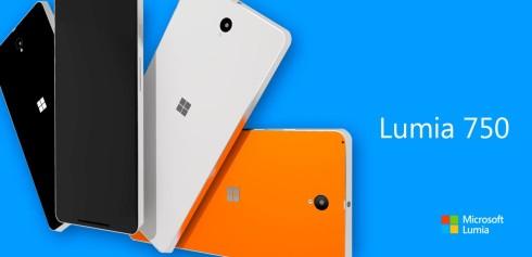 Microsoft Lumia 750 concept 3