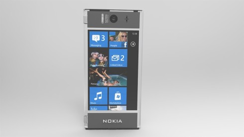 Nokia transparent cellphone render 3