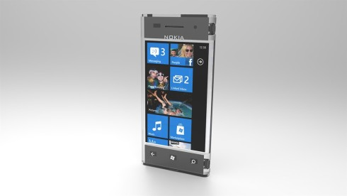 Nokia transparent cellphone render 4