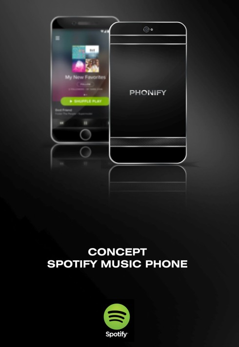Phonify Spotify concept phone 2