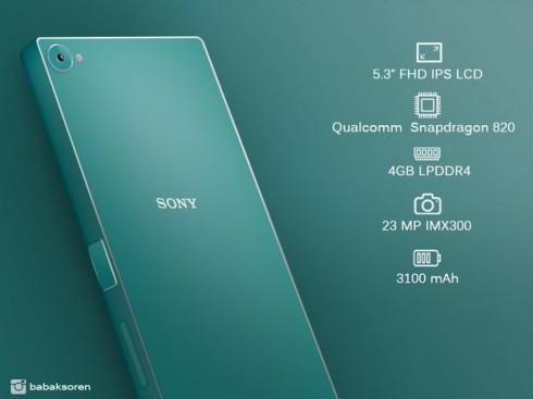 Sony Xperia Z5 Plus concept 1
