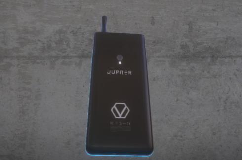 Vaporcade Jupiter vaping smartphone 3