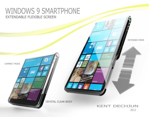 Windows 9 smartphone flexible 1