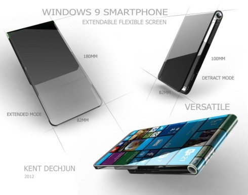 Windows 9 smartphone flexible 2