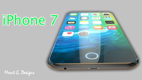 iPhone 7 and iPhone 7 Edge concept 1