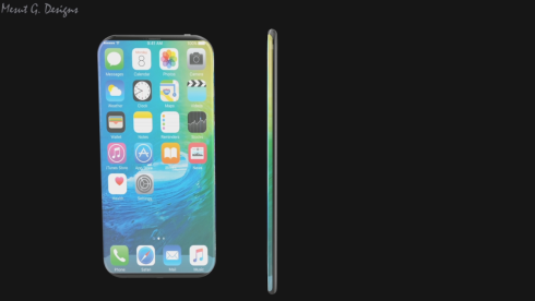 iPhone 7 and iPhone 7 Edge concept 2
