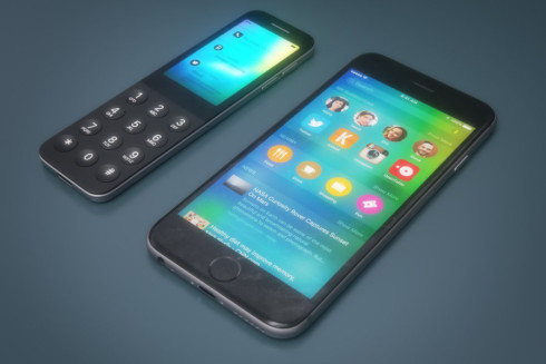Apple iDot dumbphone concept 3