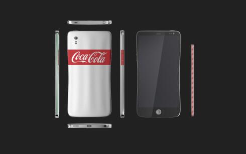 Coca Cola smartphone Junguk Shun concept 3