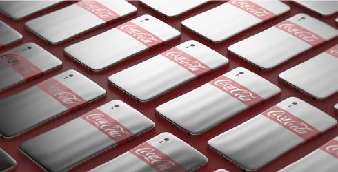 Coca Cola smartphone Junguk Shun concept 5