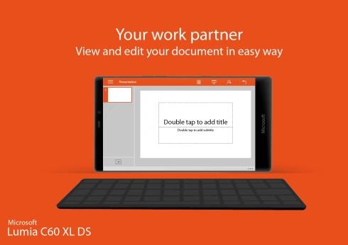 Microsoft Lumia C60 XL dual SIM concept 3