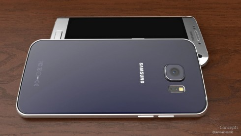 Samsung Galaxy S7 Edge concept Jermaine Smit december 2015 4