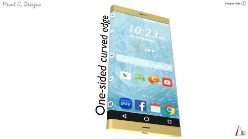 Samsung Galaxy S7 concept front speaker delta 1
