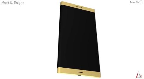 Samsung Galaxy S7 concept front speaker delta 2