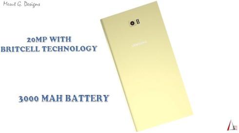 Samsung Galaxy S7 concept front speaker delta 3