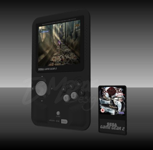 Sega Game Gear 2 concept portable console 1