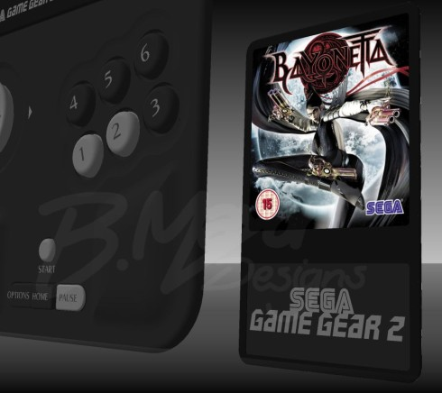 Sega Game Gear 2 concept portable console 4