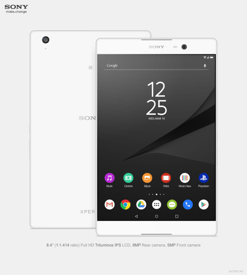 Sony Xperia C5 Tablet concept 2