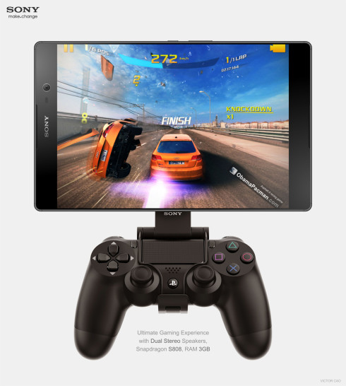 Sony Xperia C5 Tablet concept 4
