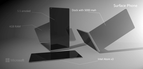 Surface Phone 2016 concept Lucas Silva 2