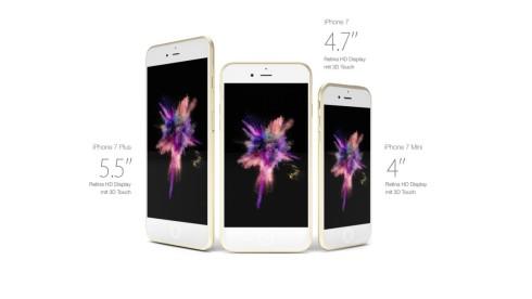 iPhone 7 iphone 7 plus  concept ultraslim Eric Huismann 1