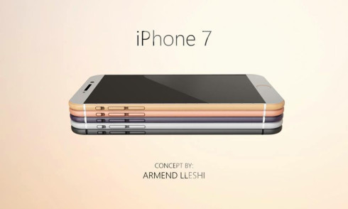 Apple iPhone 7 3D concept Armend Lleshi 1
