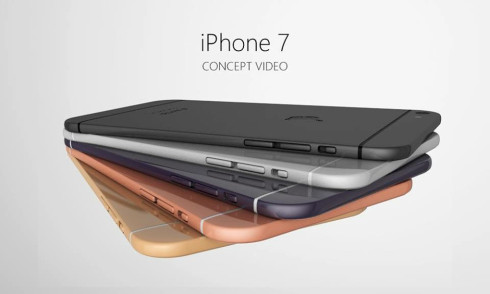 Apple iPhone 7 3D concept Armend Lleshi 2