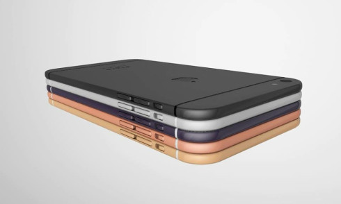 Apple iPhone 7 3D concept Armend Lleshi 3