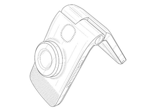 Google clamshell cameraphone patent 3