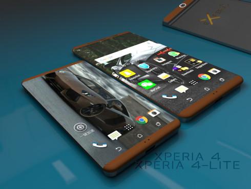 HTC Xperia 4 Xperia 4 Lite concept 1