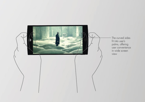 Hybrid energy phone concept 2016 5