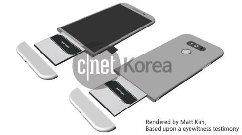 Lg-G5 render leak cnet korea