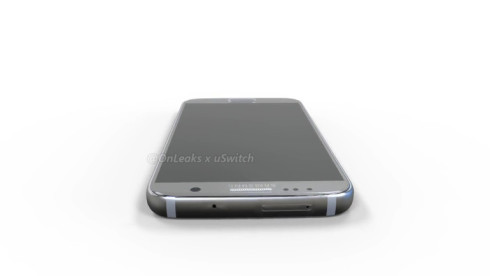 Samsung Galaxy S7 3D mockup onleaks 1